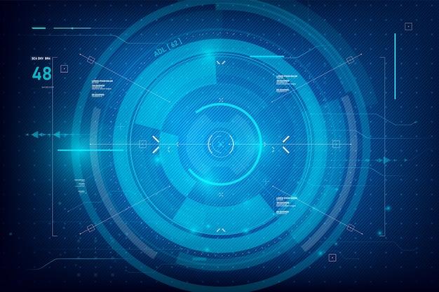 Tecnologia cibernética futurista