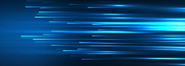 Tecnologia com design de linhas de conexão