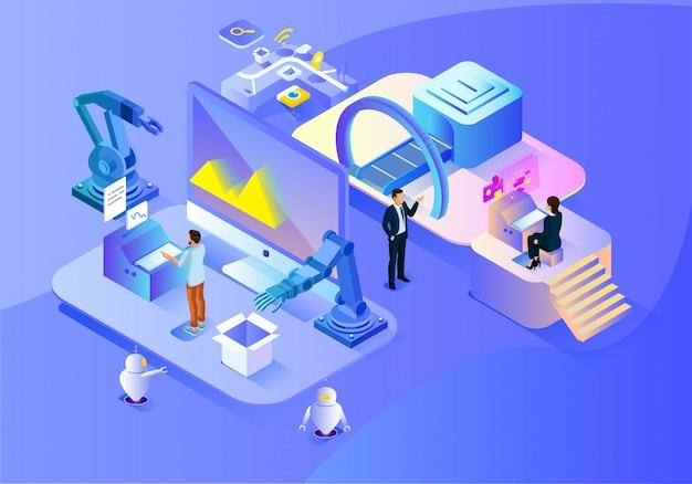 Tecnologia de ciência de negócios