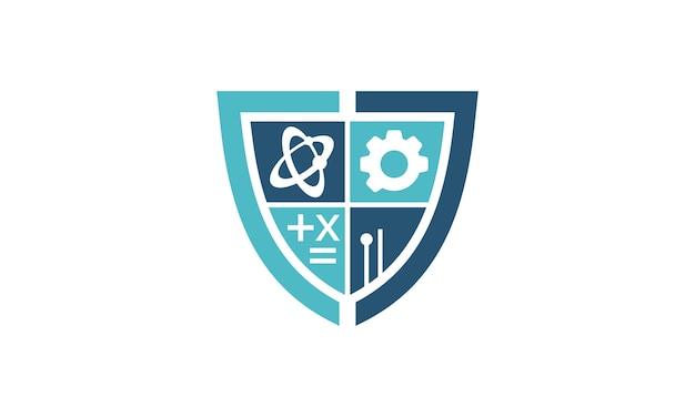 Tecnologia de ciência estudo shield suporte