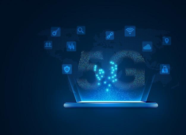 Tecnologia de comunicação móvel 5g