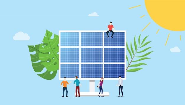 Tecnologia de energia do painel solar