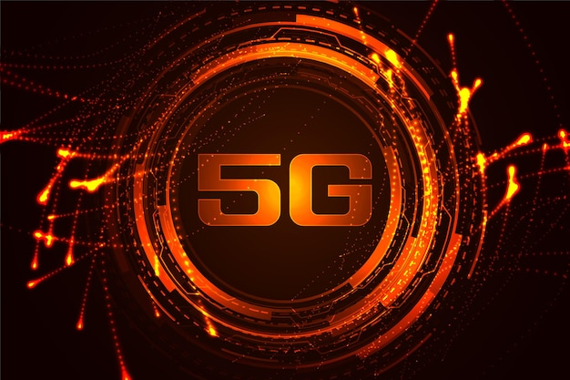 Tecnologia de fundo de conceito de internet de alta velocidade