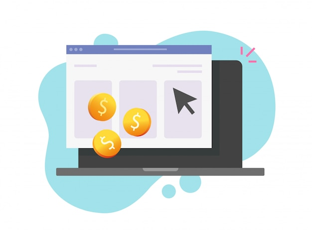 Tecnologia de internet paga por clique