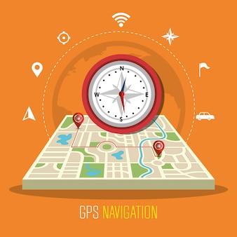 Tecnologia de navegação gps