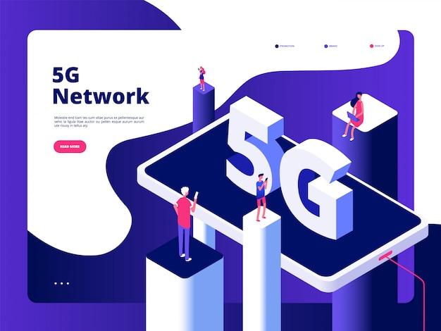 Tecnologia de radiodifusor de smartphones velocidade internet banda larga quinto hotspots wifi rede global telecomunicações