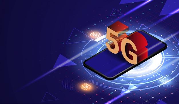 Tecnologia de rede sem fio 5g