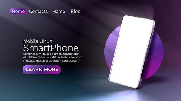 Tecnologia de tela de smartphone para celular