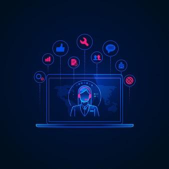 Tecnologia de telemarketing
