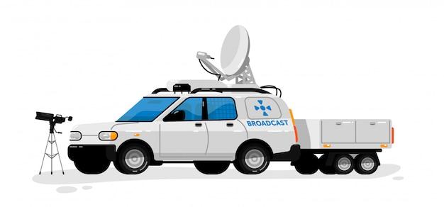 Tecnologia de transmissão. radiodifusão