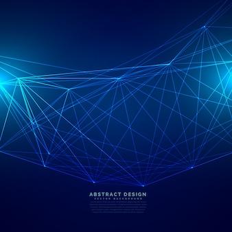 Tecnologia, digital, fundo, feito, fio, malha