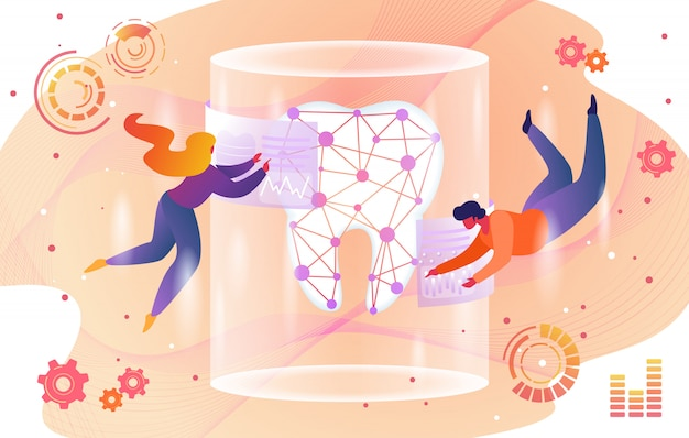 Tecnologia do futuro em estomatologia na saúde.