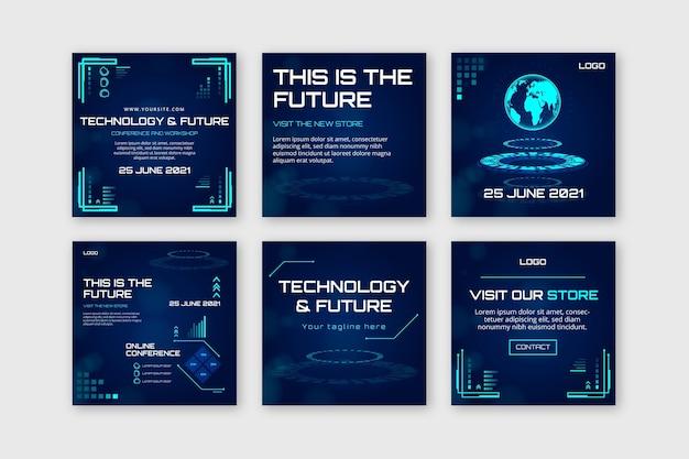 Tecnologia e futuras postagens do instagram