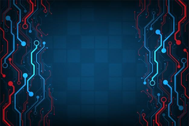 Tecnologia em design de circuitos eletrônicos.