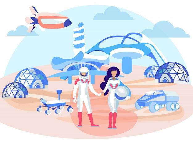 Tecnologia espacial futurista