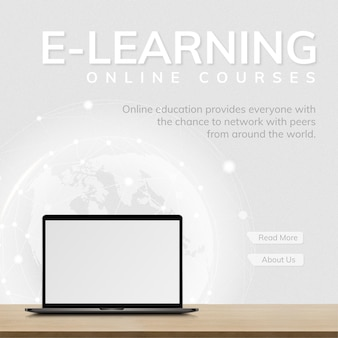 Tecnologia futura de modelo de e-learning