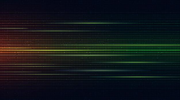 Tecnologia futurista de moléculas em fundo de microchip, alta tecnologia e conceito de ciência