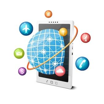 Tecnologia global de smartphones