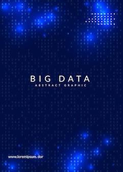 Tecnologia para visualização, inteligência artificial, aprendizado profundo e computação quântica. Vetor Premium