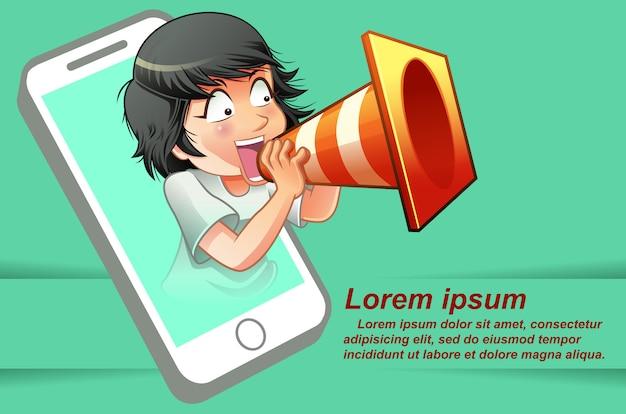 Tecnologias de comunicação móvel.