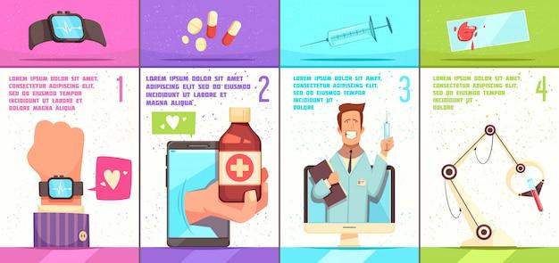 Tecnologias médicas com médico on-line