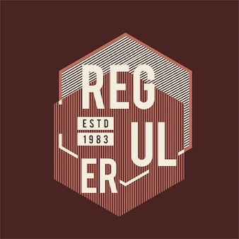 Tees gráficos - regulador