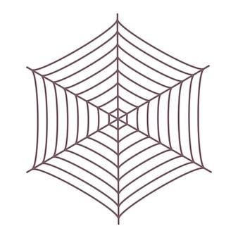 Teia de aranha geométrica