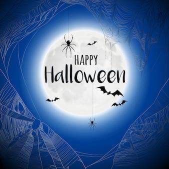 Teia de aranha halloween