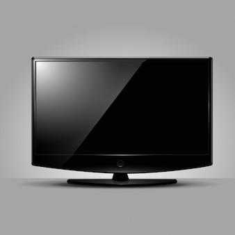 Tela da televisão moderna