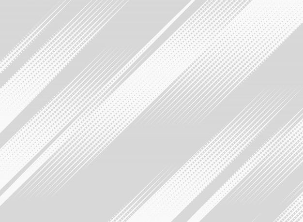 Tela de apresentação de padrão de tecnologia de meio-tom quadrado abstrato