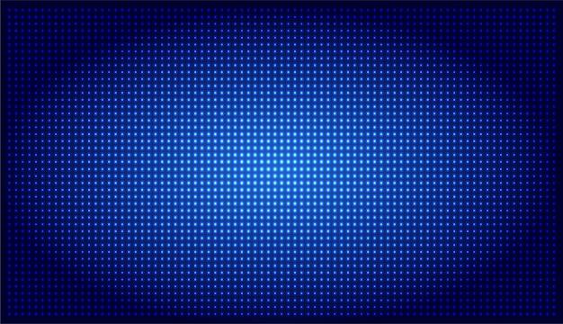 Tela de cinema led azul
