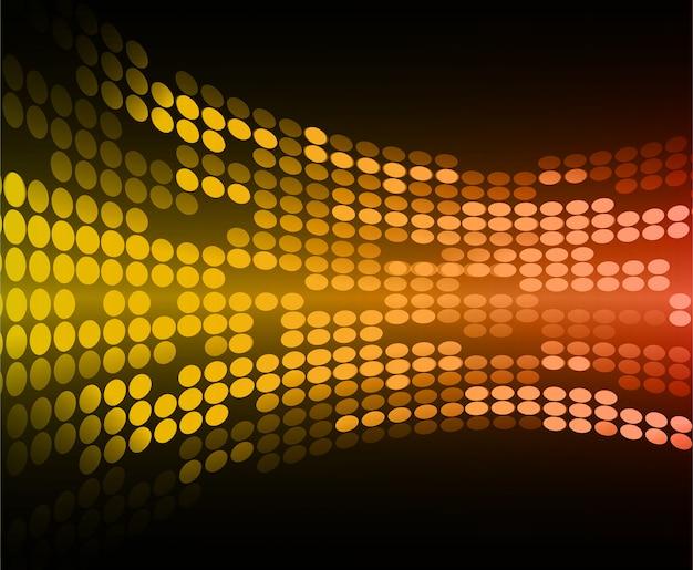 Tela de cinema led para apresentação de filmes. fundo abstrato tecnologia clara