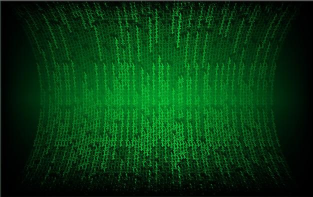 Tela de cinema led verde para apresentação de filmes.