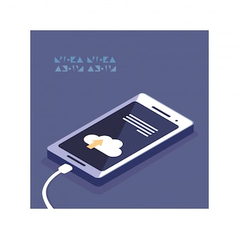 Tela de smartphone com aplicativos móveis