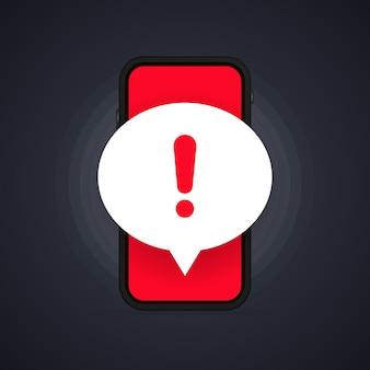 Tela do celular com um aviso sobre conexão segura de spam, fraude, vírus