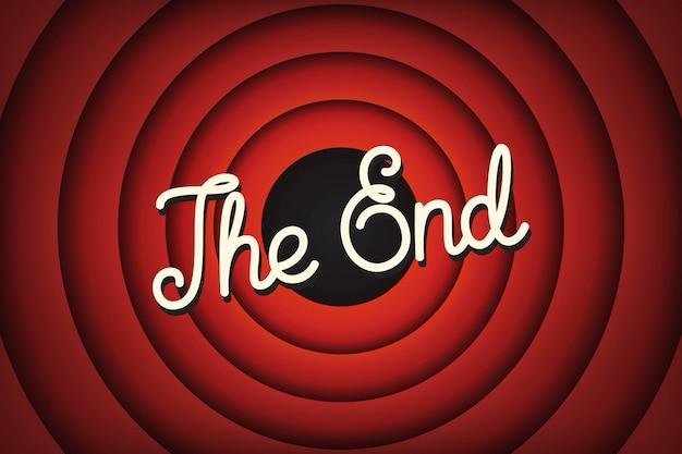 Tela final do filme
