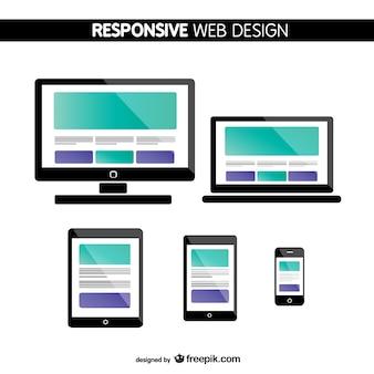 Telas de web design collecton