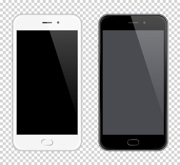 Telefone celular realista vector