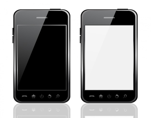 Telefone de vetor isolado
