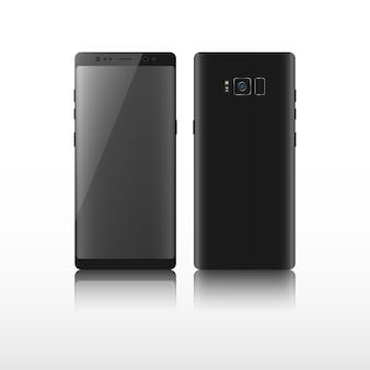 Telefone inteligente realista.