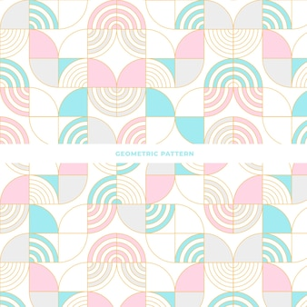 Telha design padrão geométrico abstrato