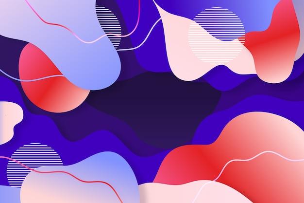 Tema abstrato colorido