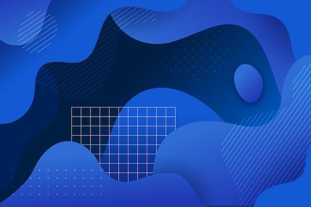 Tema azul clássico abstrato para plano de fundo