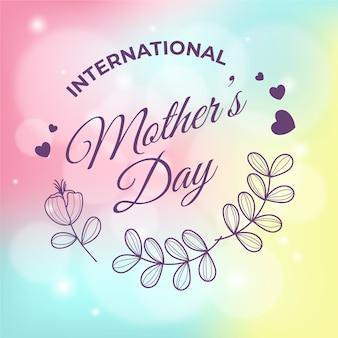Tema borrado com dia das mães