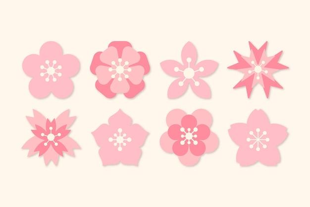 Tema da coleção sakura