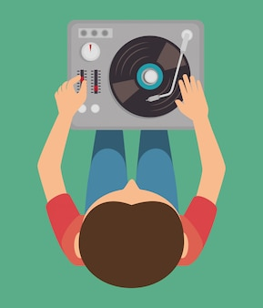 Tema da festa dj música