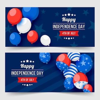 Tema de banners do dia da independência