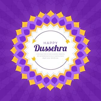 Tema de celebração do evento dussehra