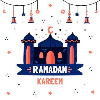Tema de desenho do ramadã