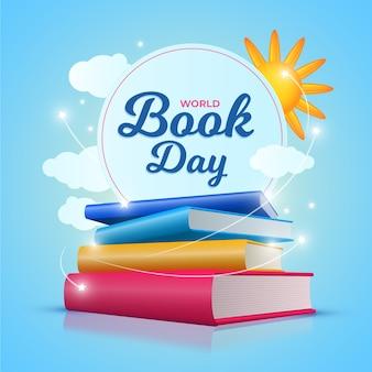 Tema de dia mundial do livro realista